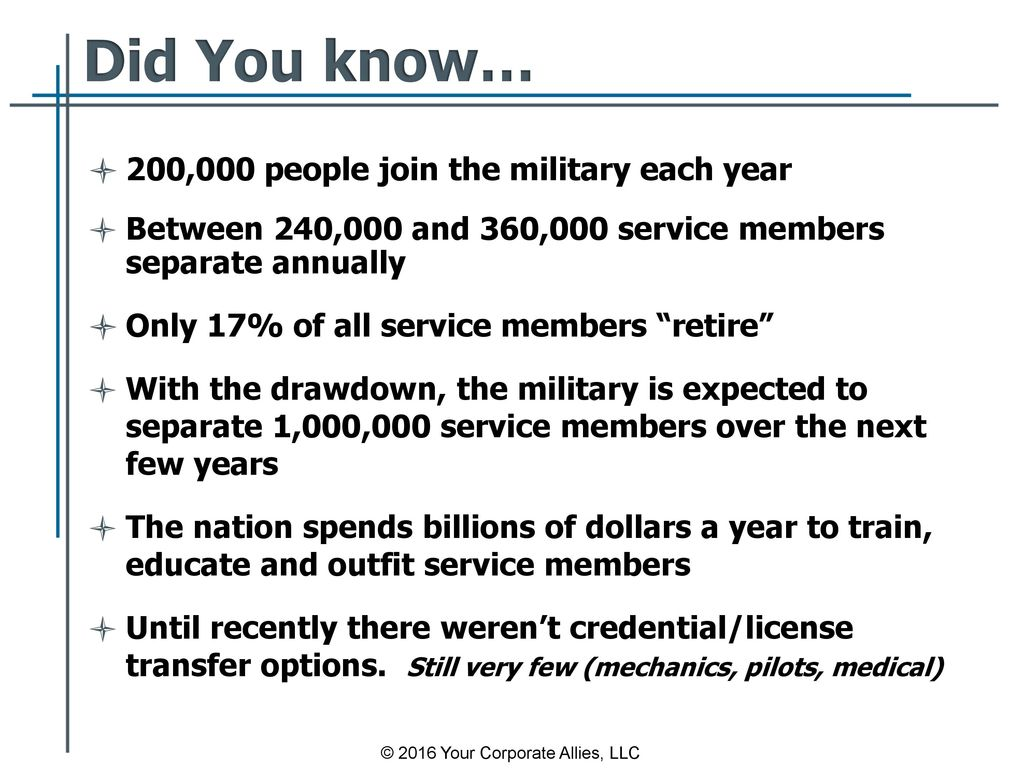 recruiting military candidates - ppt download
