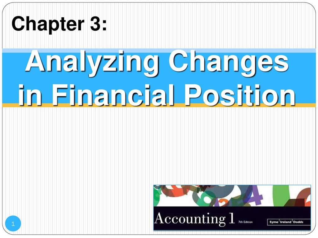 Analyzing Changes in Financial Position - ppt download