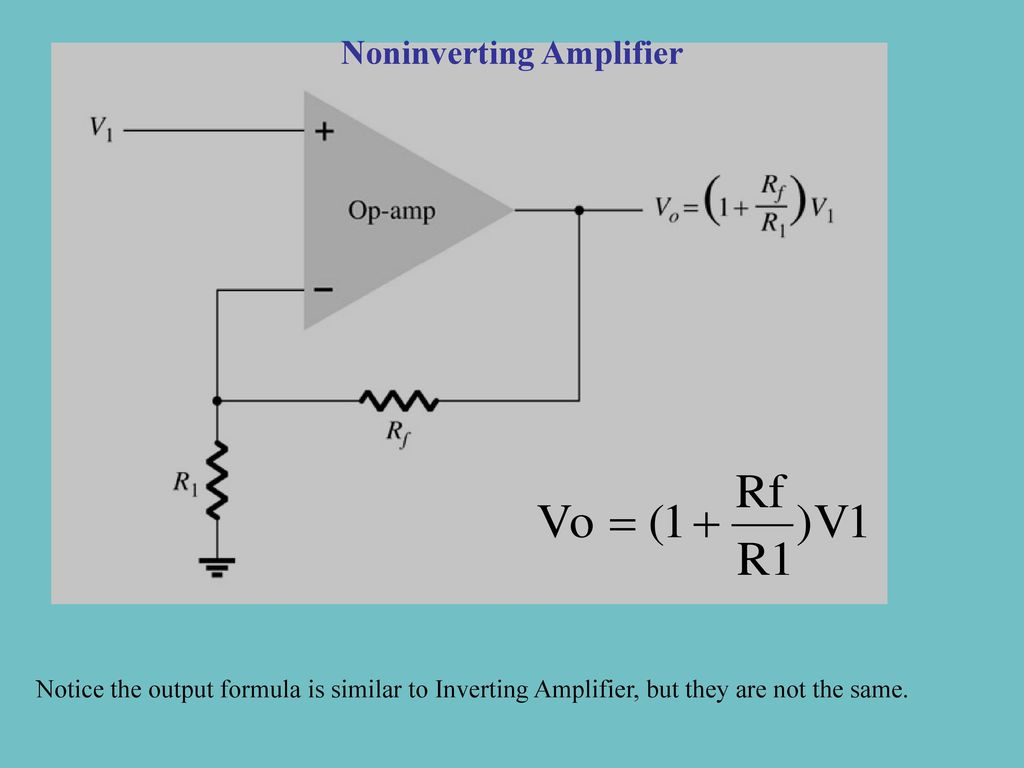 Basic Block Diagram Of Op Amp Ppt Download Inverting Amplifier Vs Noninverting