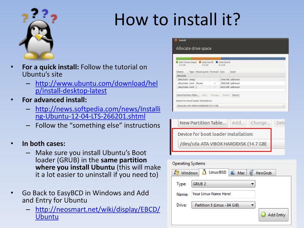 Ubuntu Linux Yonathan M  Vivas  - ppt download
