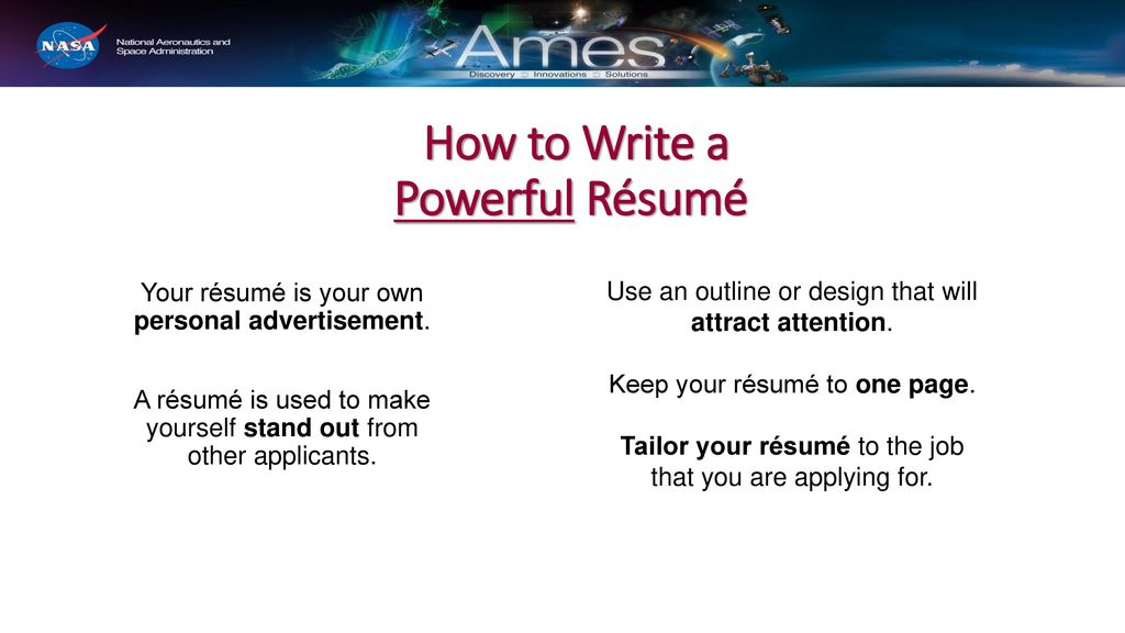 Resume Writing Interview Skills Ppt Download