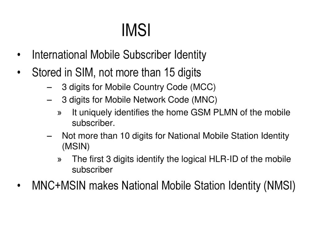 GSM Global System For Mobile Communication - ppt download