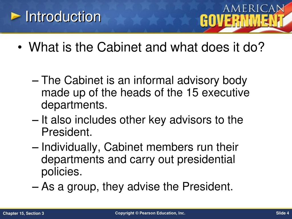 Chapter 15 Government At Work The Bureaucracy Section 3 Ppt Download Next Into Cabinet Introduction What Is And Does It Do