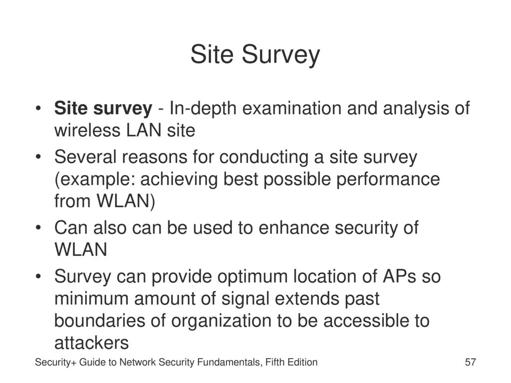 Security+ Guide to Network Security Fundamentals, Fifth
