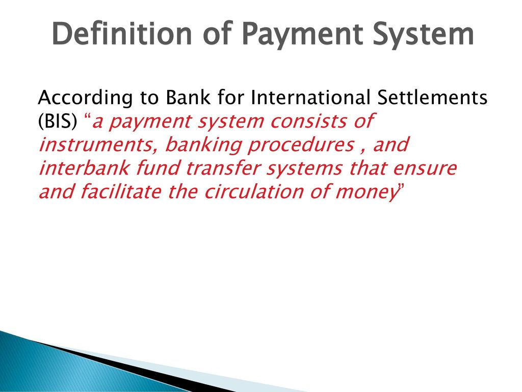 electronic payment systems - ppt download