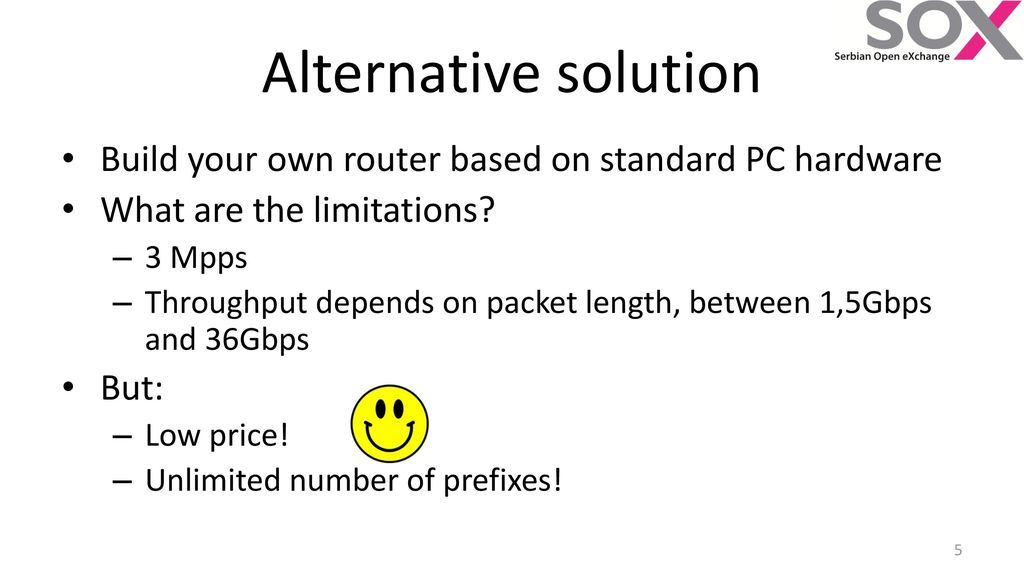 PC based software router - ppt download