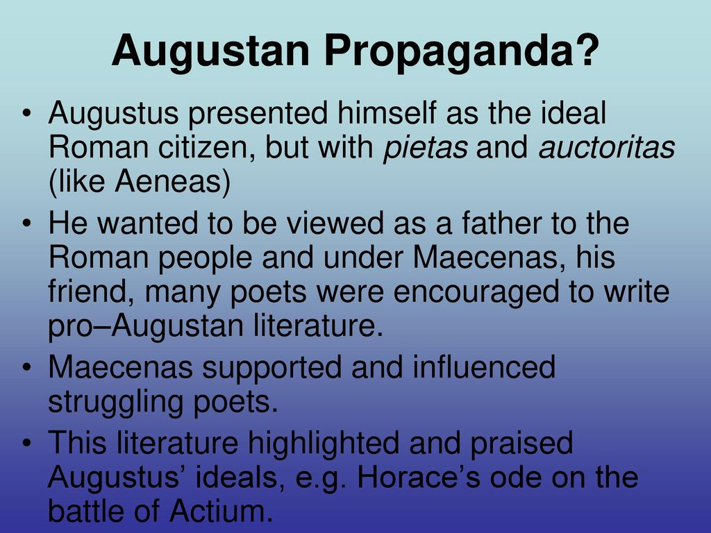 augustan poetry and the roman republic