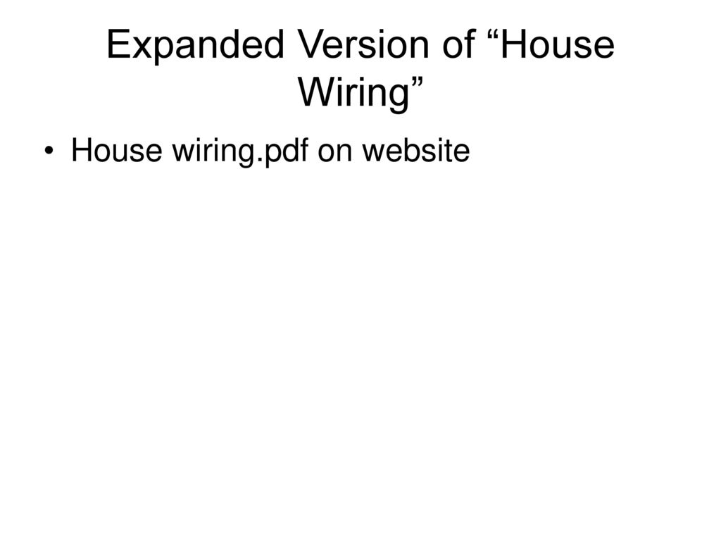 Electrical Engineering For Physicists How To Get From The 208 Vac 3 Wiring Of A House Expanded Version