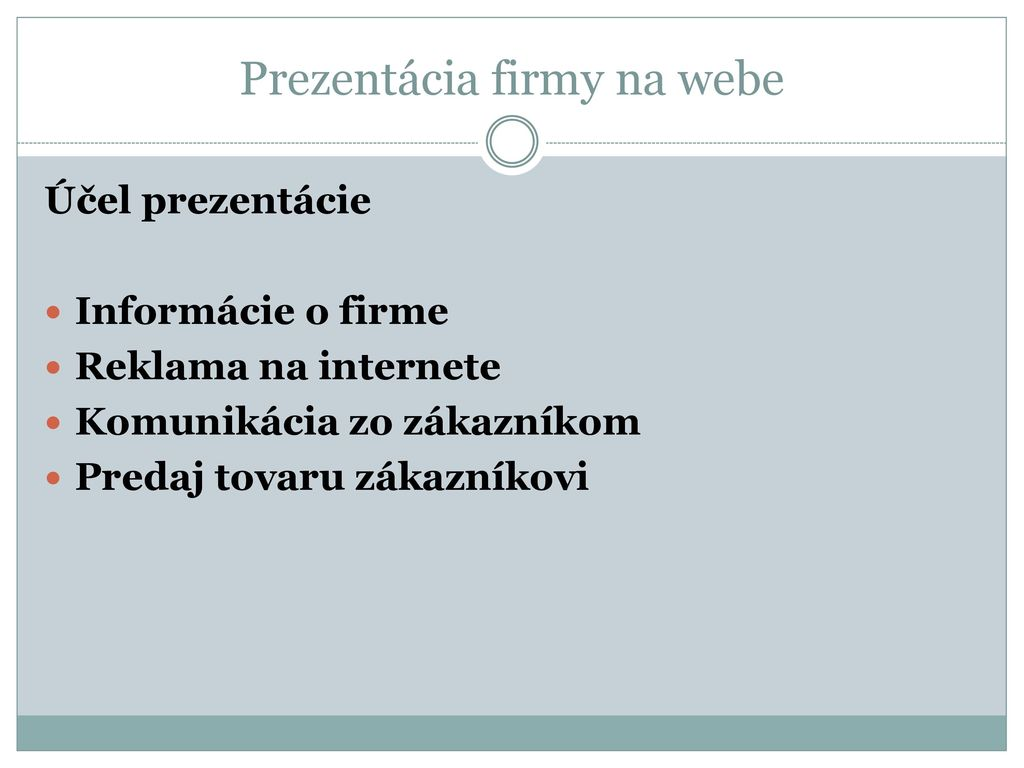 Tvorba web stránok. - ppt download 71fab2e3c74