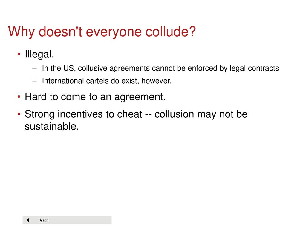 Lecture 10 Tacit Collusion And Cartels Ppt Download