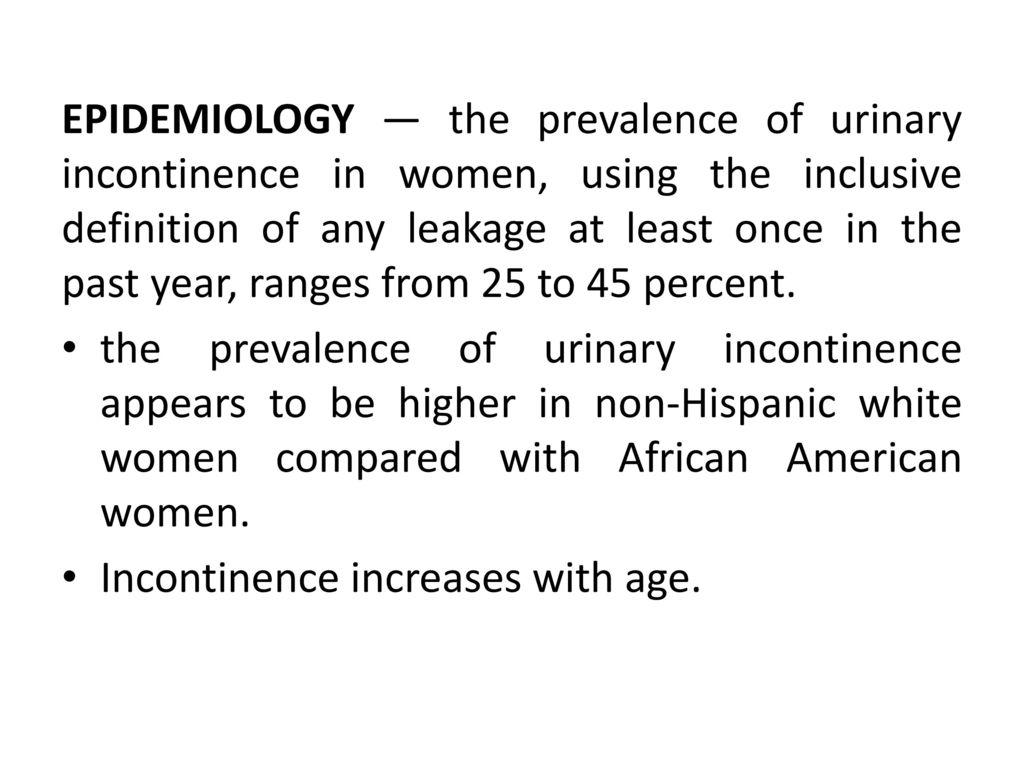 Urinary problems in gynecology Dr  Samar D  Samar - ppt download