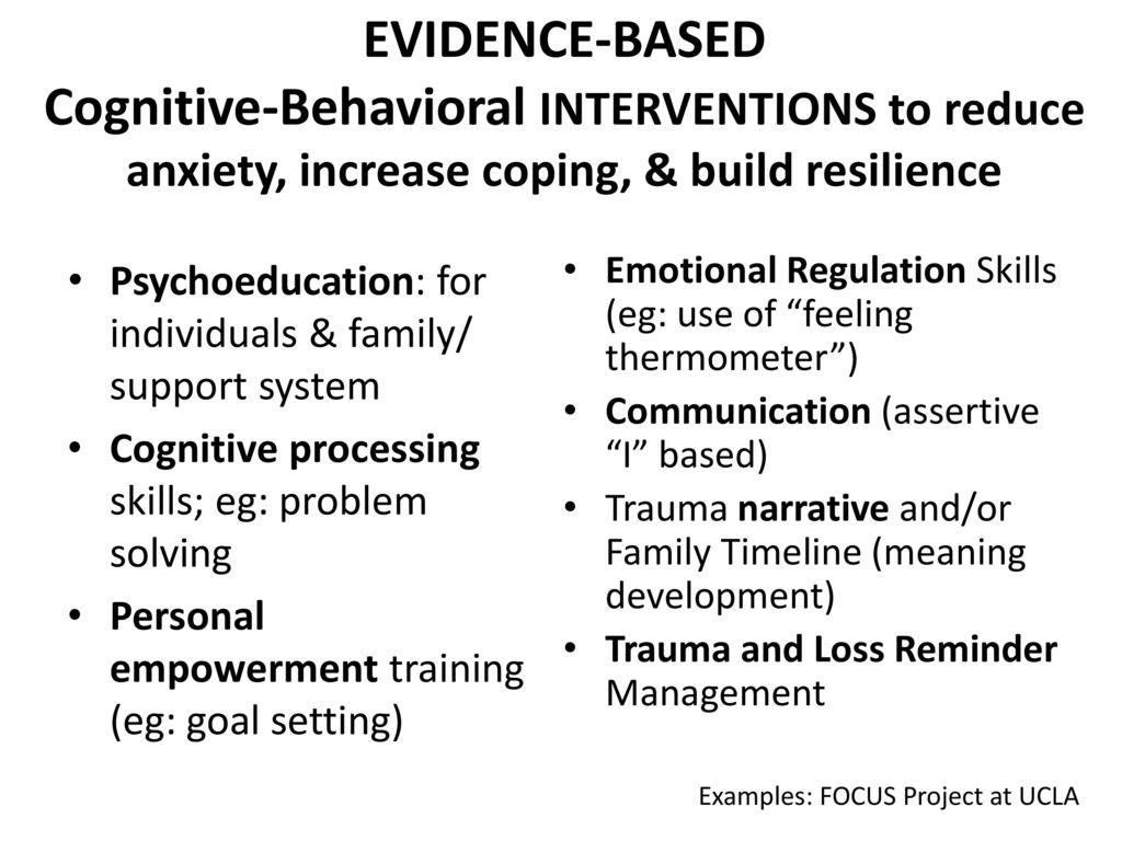 Understanding Trauma Working With Trauma In Drug Courts