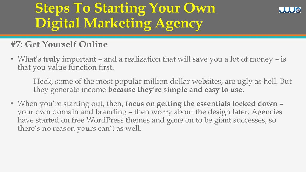 Steps To Starting Your Own Digital Marketing Agency