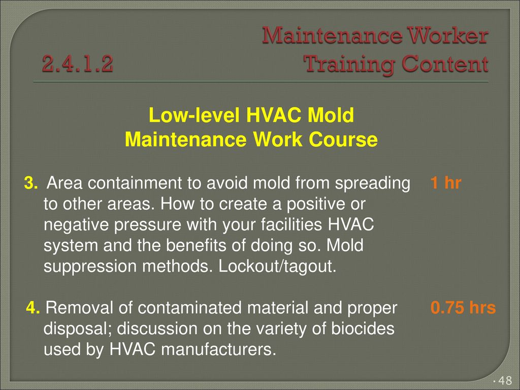 Mold Awareness Training - ppt download