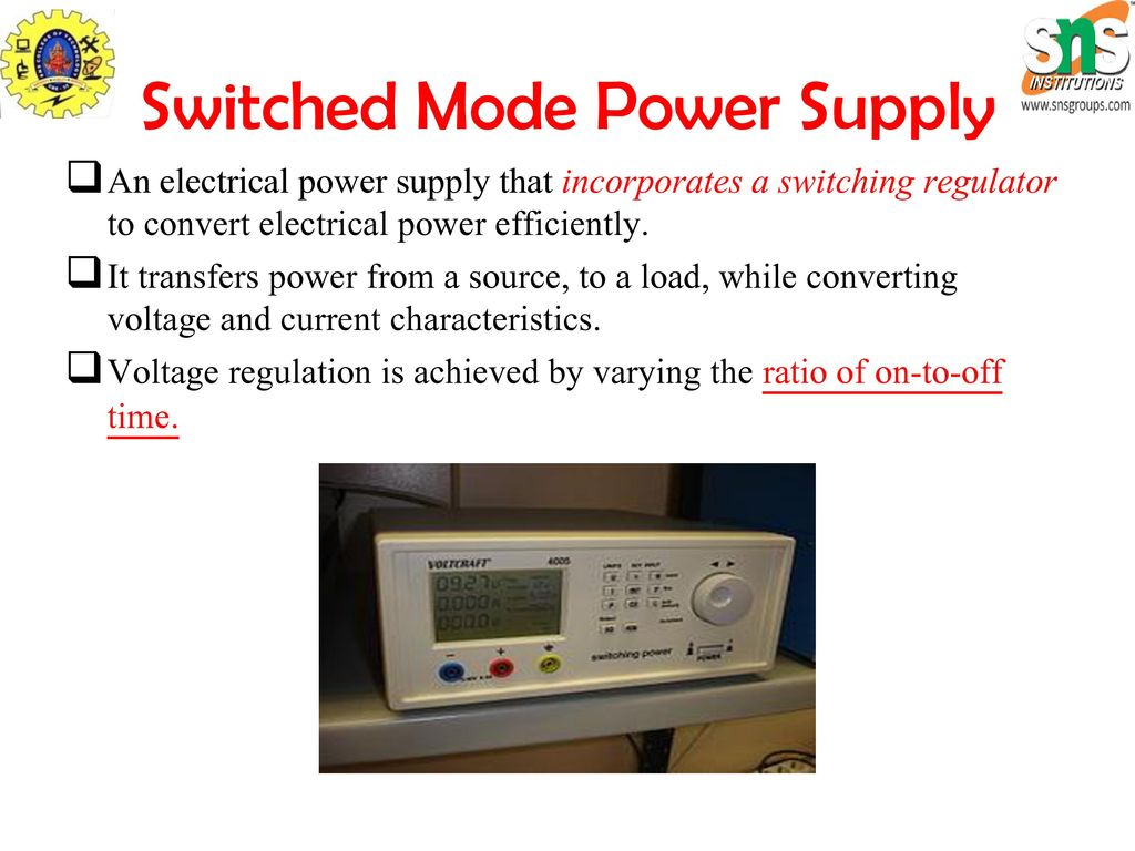 Smps Ppt Download Switching Regulator Time Switched Mode Power Supply