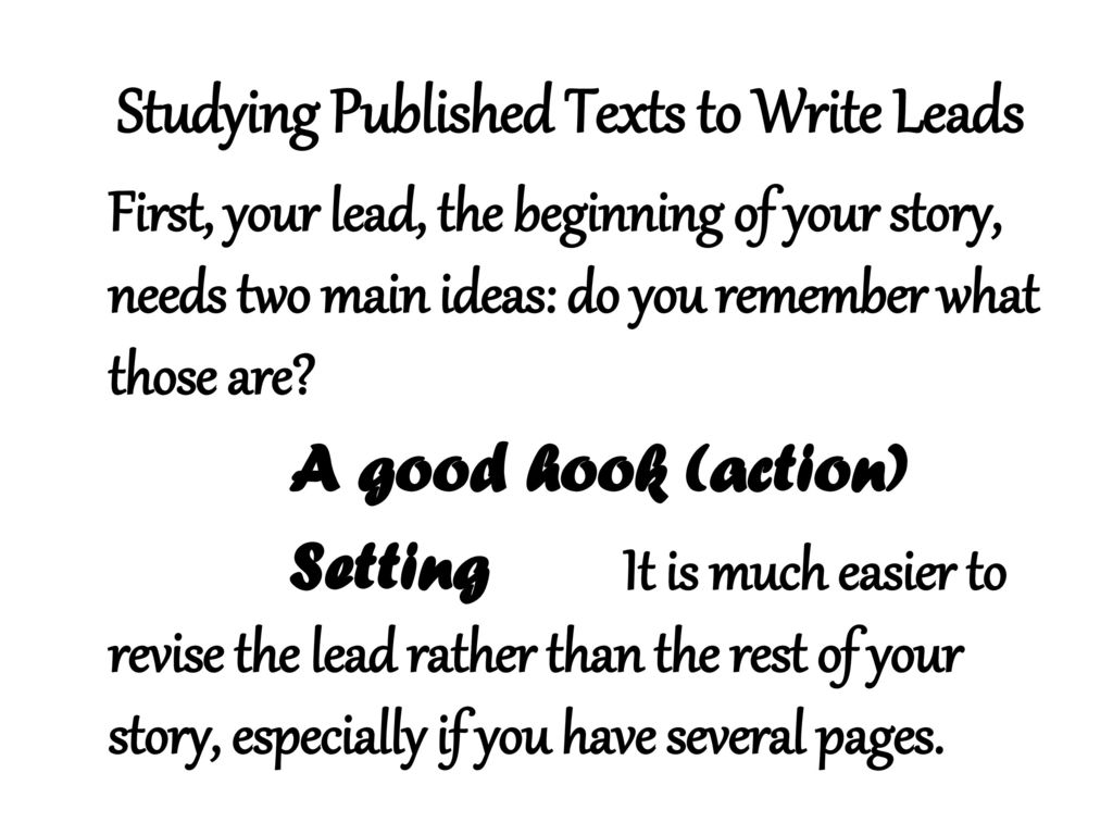 writing realistic fiction - ppt download