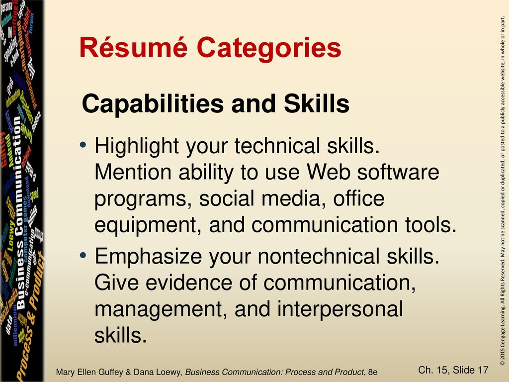 Chapter 15 The Job Search and Résumés in the Digital Age - ppt download