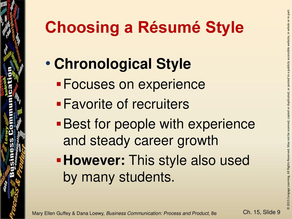 Chapter 15 The Job Search And Rsums In The Digital Age Ppt Download