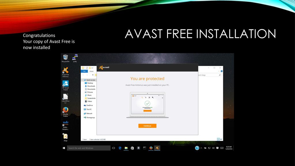 avast keeps turning off 2016