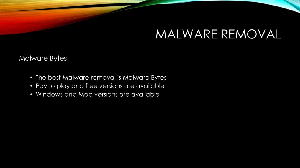 Three steps to prevent Malware infection - ppt download