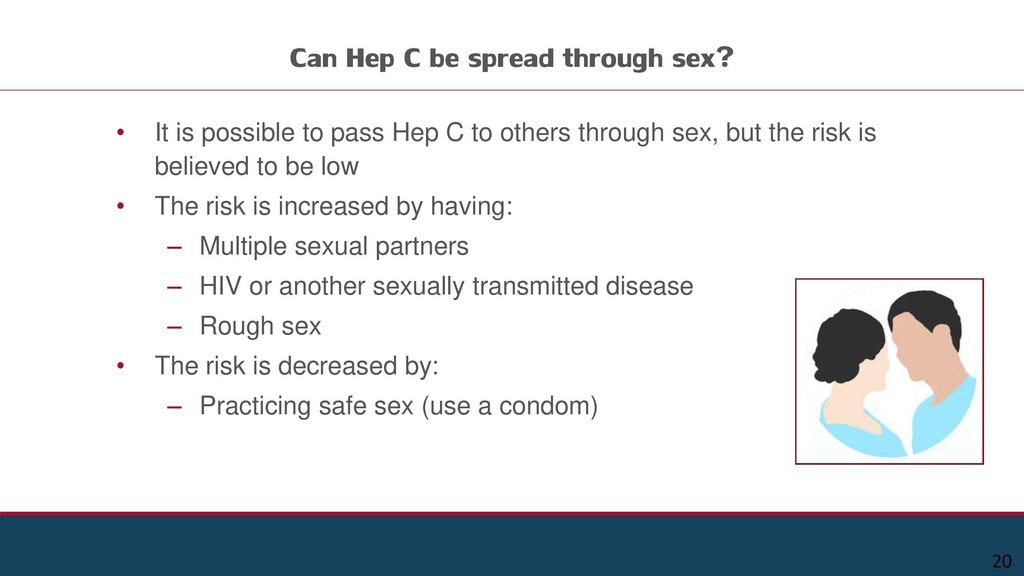 Can hepatitis c be transmitted sexually foto 8