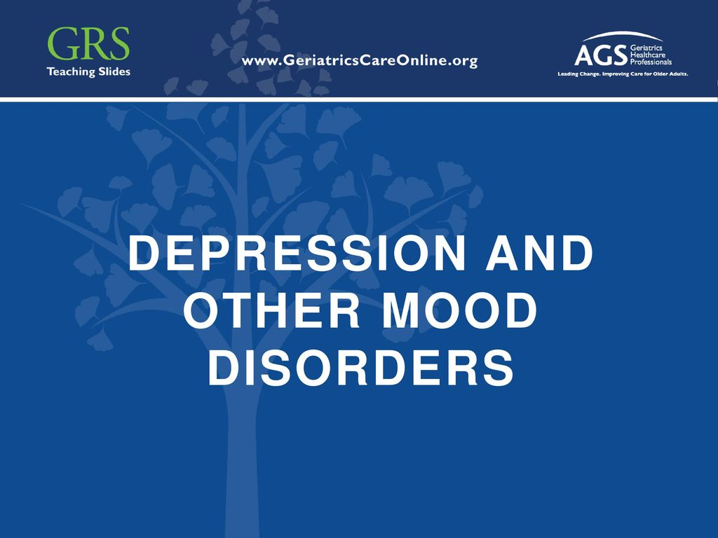 Depression And Other Mood Disorders Ppt Download