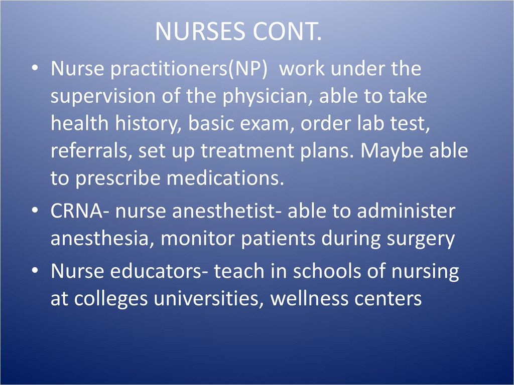 Health care careers Part II - ppt download