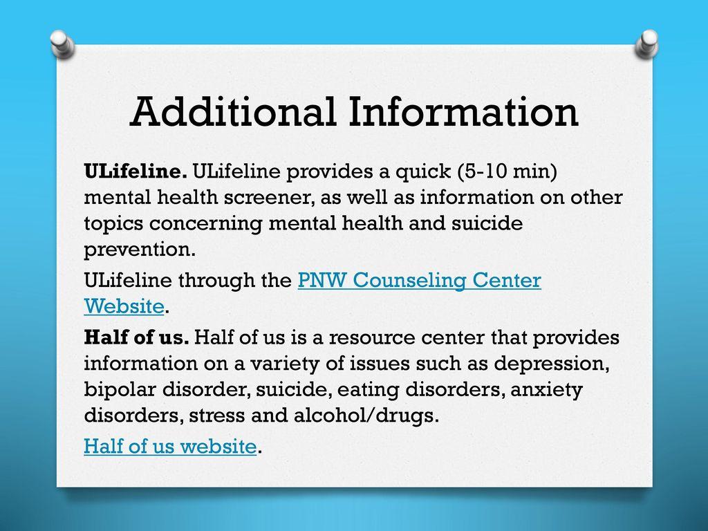ulifeline eating disorders