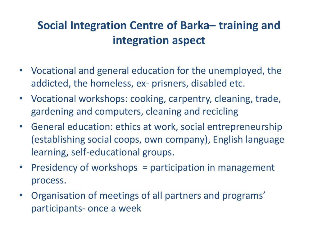 Barka's Network of Cooperation in Poland  - ppt download