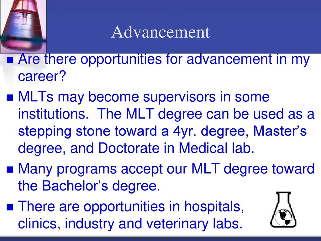 Is A Career In Medical Laboratory Technology For You Ppt Download