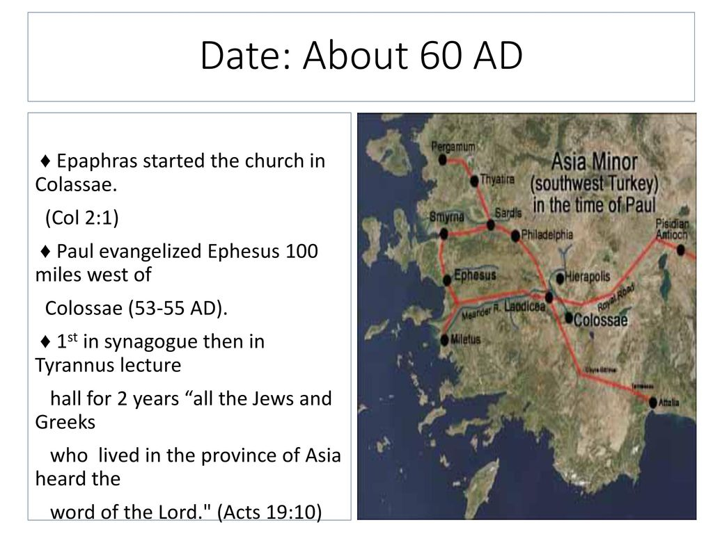 Map Of Asia Minor 60 Ad.Dr John Oakes Pedro Figueroa Spring Ppt Download