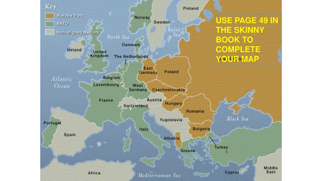 Activity: Post WWII Map/Differing Ideologies - ppt download