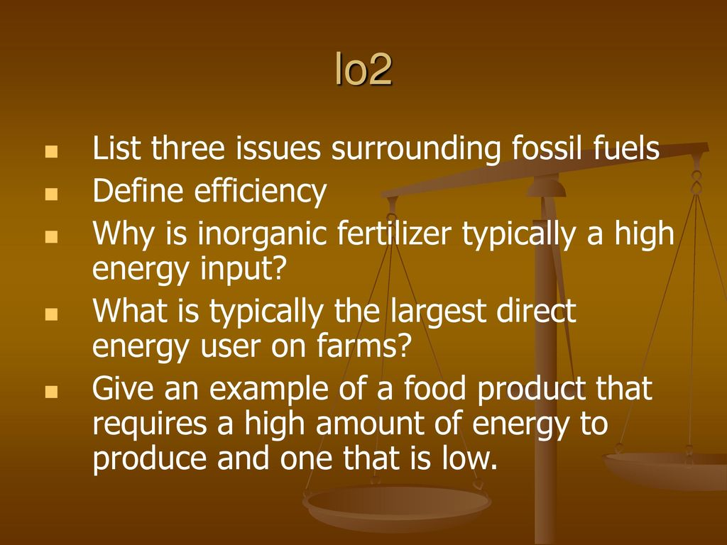 energy use in agriculture - ppt download