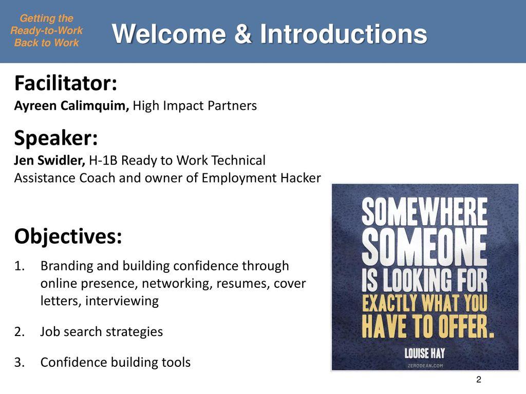 job seeker branding and job search strategies to help the long term