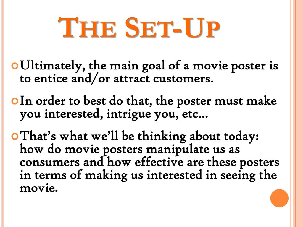 how to do a movie analysis