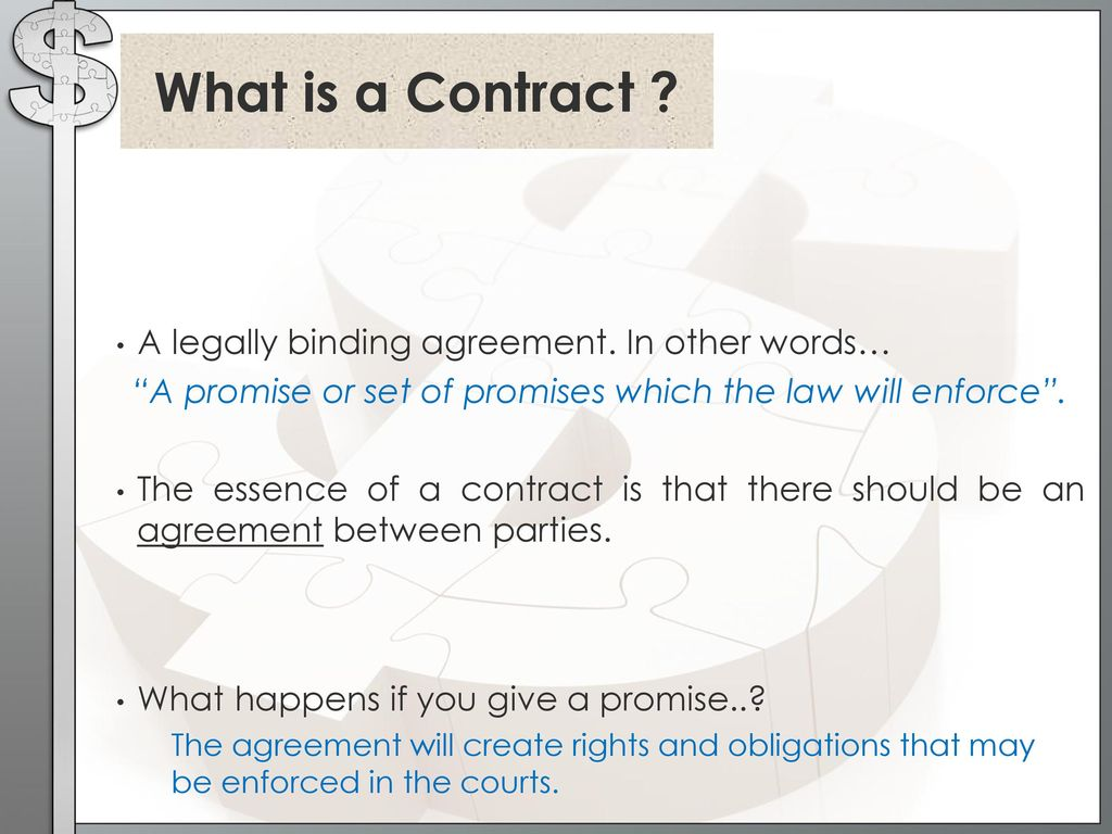 Contract Law Ppt Download