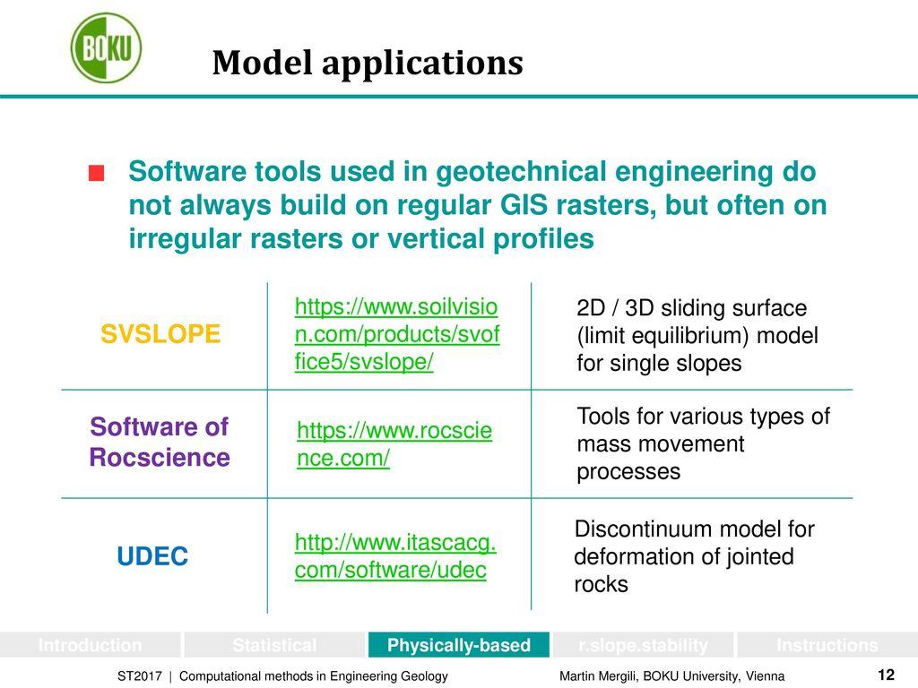 Modelling of landslide release - ppt download