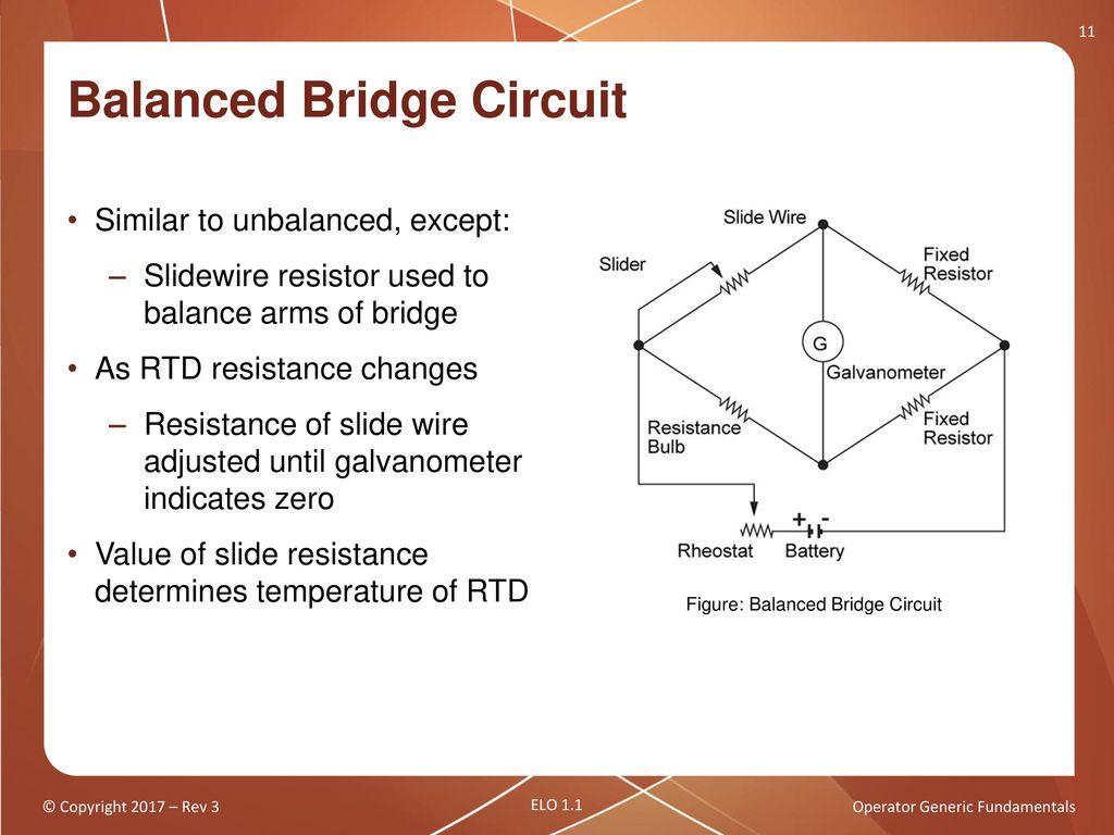 Operator Generic Fundamentals Components Sensors And Detectors 1 Bridge Balance Indicator Circuit Diagram Diagrams Free Balanced
