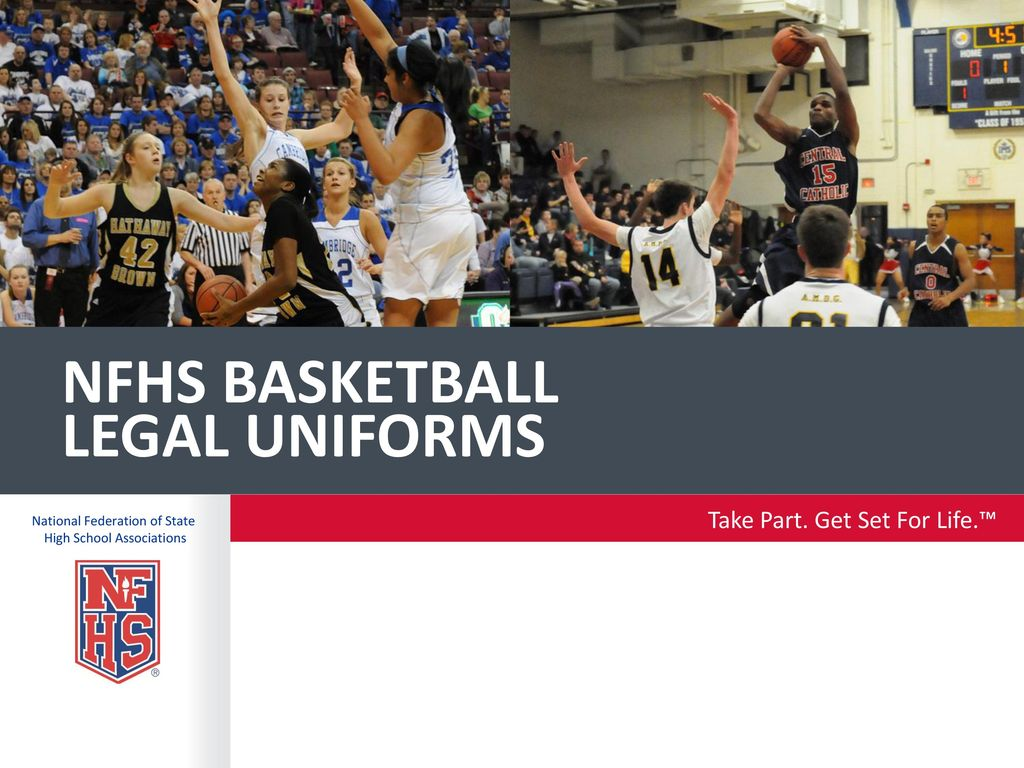 Nfhs basketball legal uniforms - ppt download d21aedb24