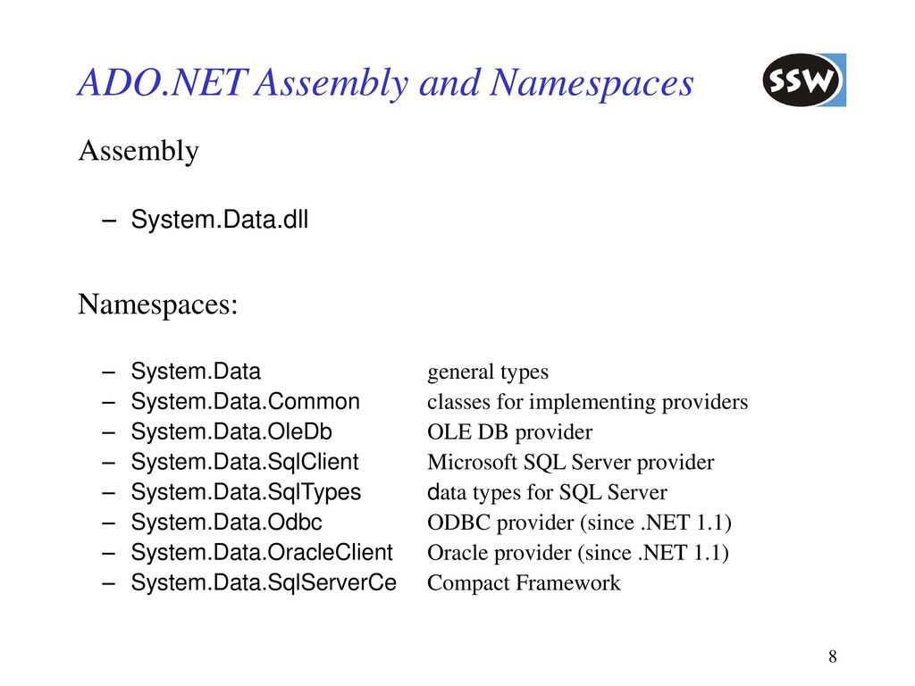 Data Access with ADO NET - ppt download