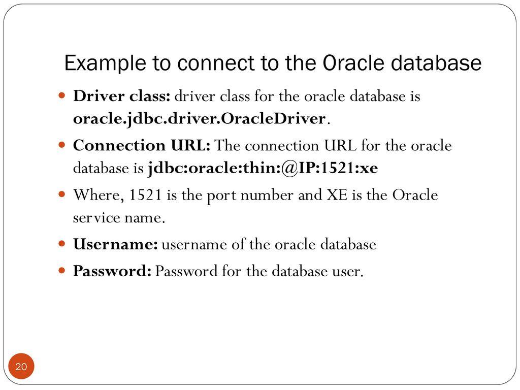 Java JDBC  - ppt download