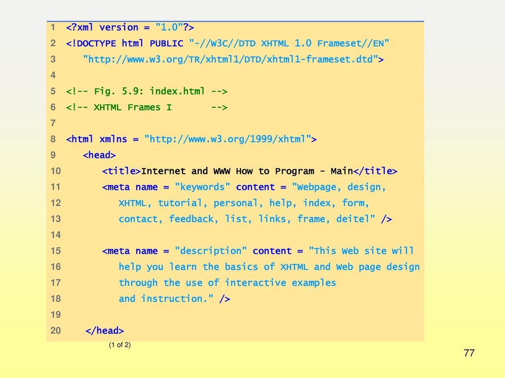 Introduction to XHTML/HTML5 (part 2) - ppt download