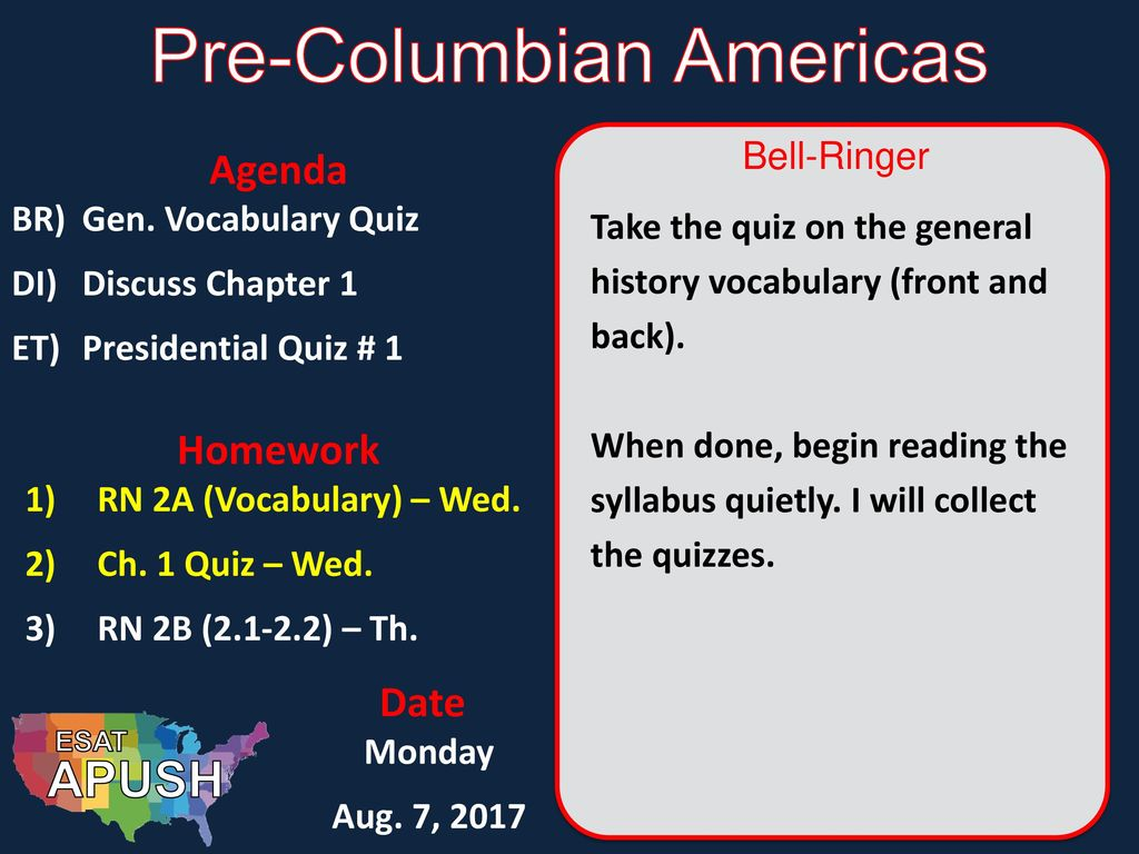 Pre-Columbian Americas - ppt download