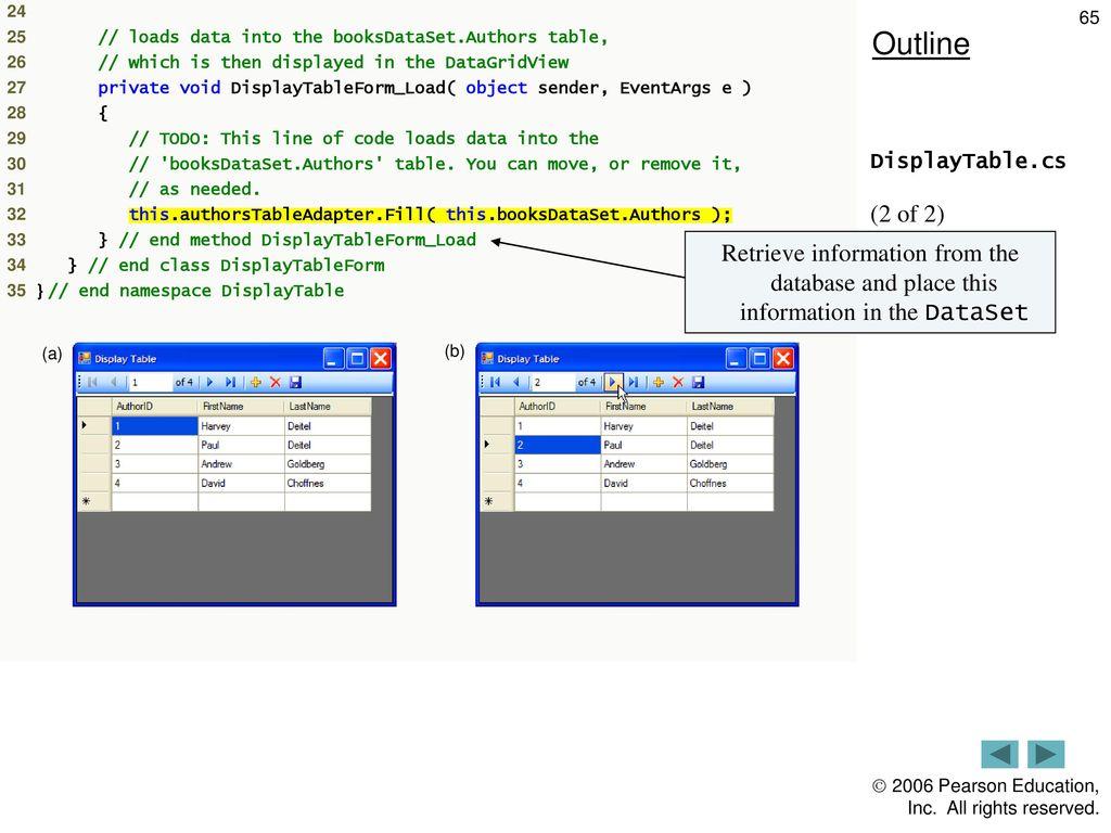 Database, SQL and ADO NET - ppt download