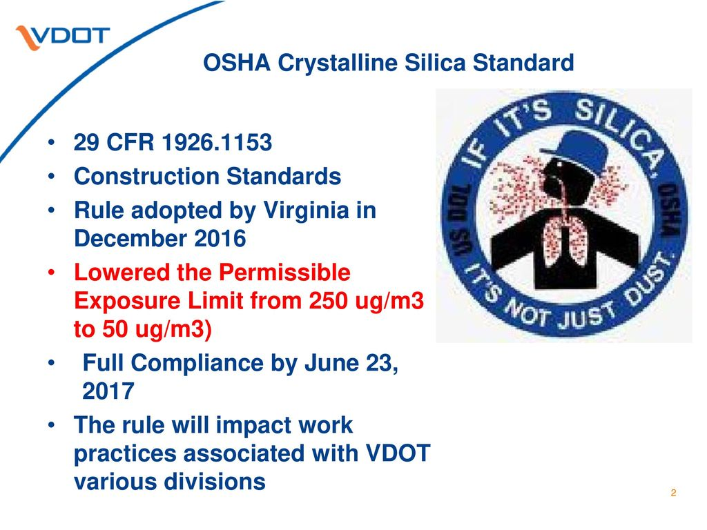 Crystalline Silica Standard - ppt download