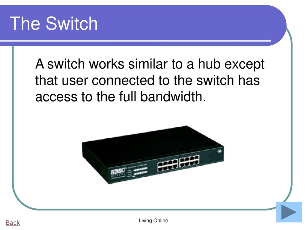 Networks And The Internet Ppt Download Wiring Diagram For Smc Modem 29