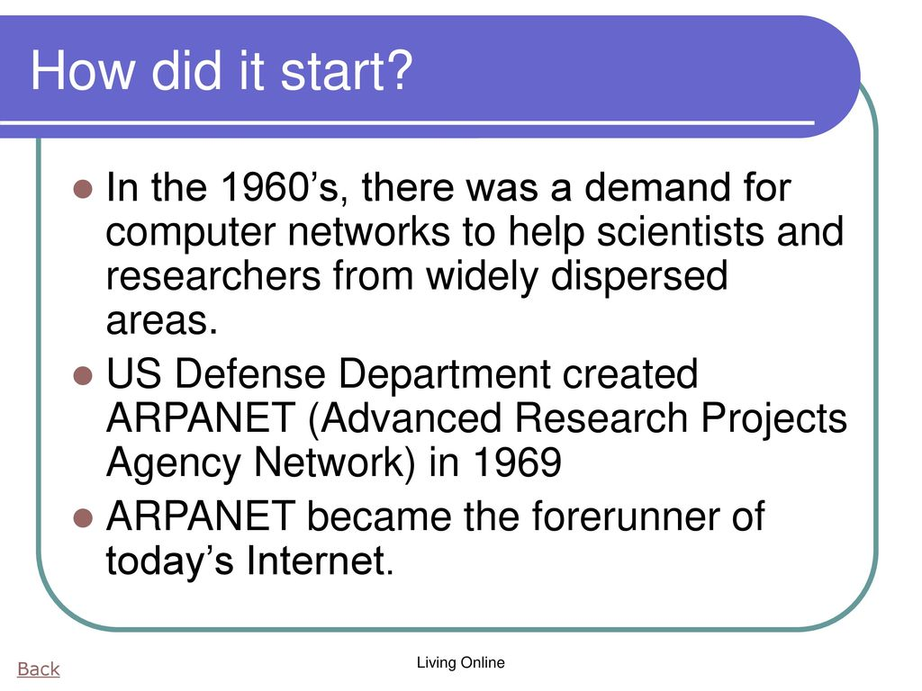 Networks and the Internet - ppt download