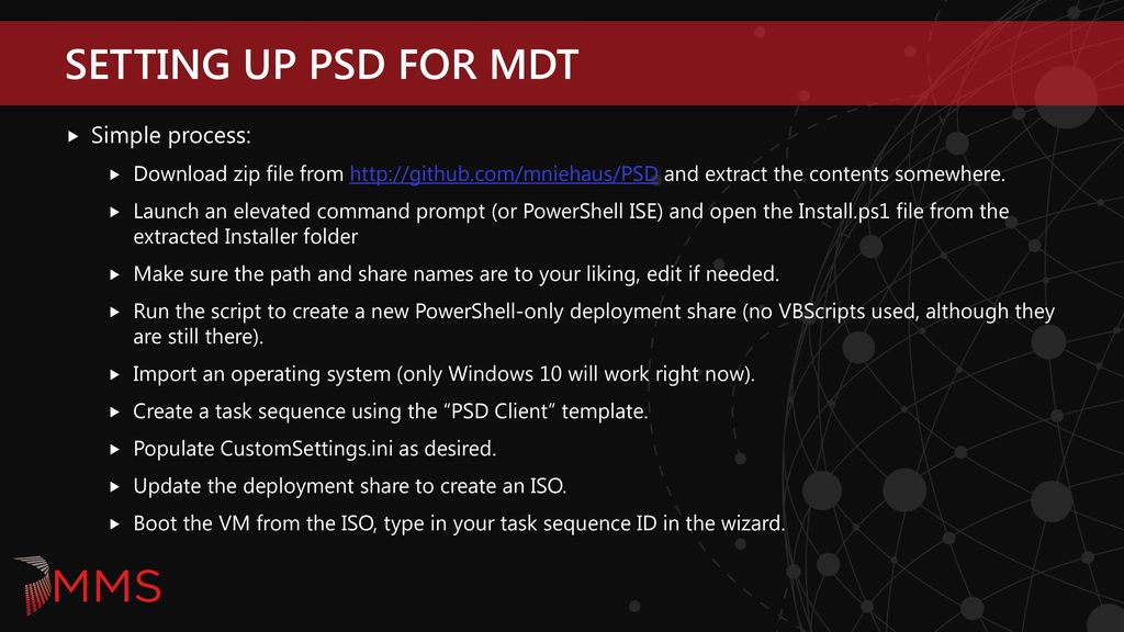 MDT and PowerShell, Volume 2 - ppt download