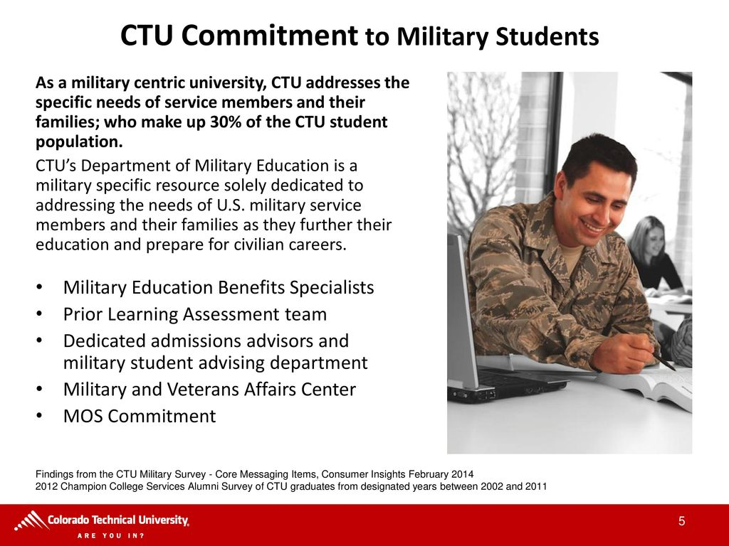 Colorado Technical University - ppt download