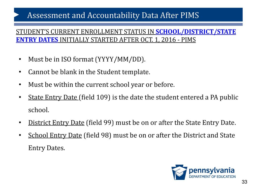 What Happens To The Assessment And Accountability Data After Pims